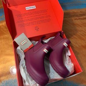 Hunter Original Chelsea Boots Violet